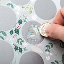 Christmas Wreath Advent Calendar Scratch And Reveal
