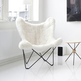 Sheepskin Butterfly Chair - home
