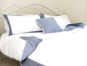 Broderie Anglaise Bedding Set 50% Off - summer sale