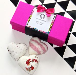 Heart Bath Bomb Gift Set