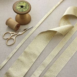 Pale Gold Ribbon Collection