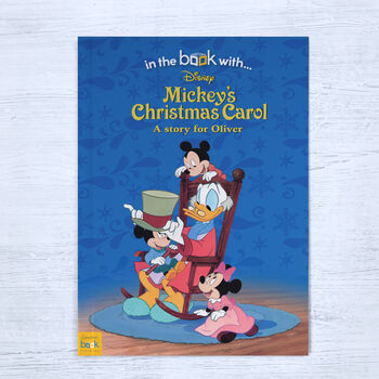 Mickey's Christmas Carol Personalised Book