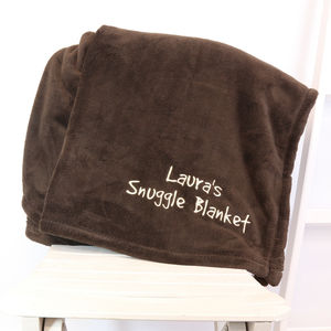 Personalised Snuggle Blanket - gifts for children