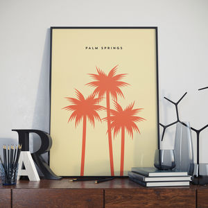 Palm Springs Landmark Print - architecture & buildings