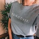 Hungover Slogan T Shirt