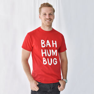 'Bah Humbug' Christmas Men's T Shirt