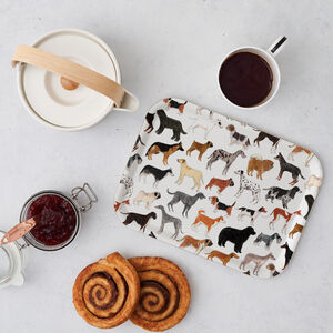 Dogs Breakfast Tray