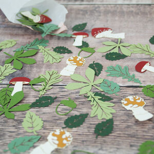 Enchanted Forest Table Confetti