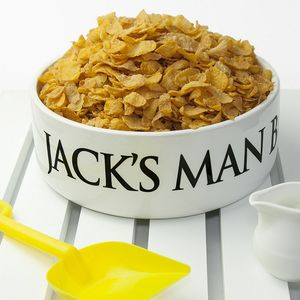 Personalised Super Size Man Bowl - dining room