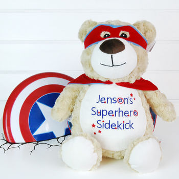Personalised Superhero Bear