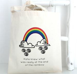 Rainbow Knitting Bag