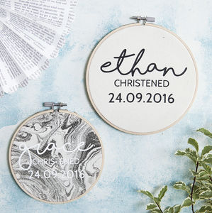 Personalised Christening Wall Art - whatsnew