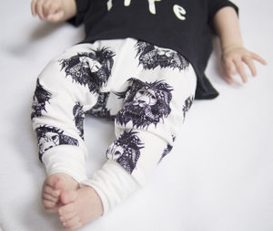 Aztec Lion Toddler And Baby Leggings - clothing