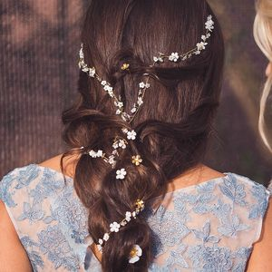 Dreamy Starlet Bridal Halo Or Hairvine - wedding fashion