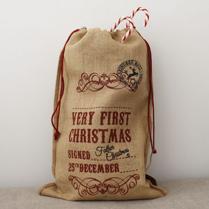 My First Hessian Sack
