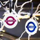 Official Tfl London Underground Hanging Tree Decoration