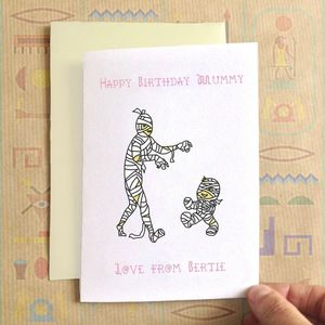 Personalised Birthday Mummy Birthday Card - birthday cards