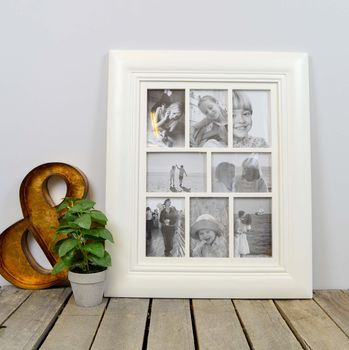 Multi Photo Picture Frame Choice Of Colours And Sizes