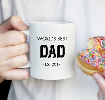World's Best Dad Father's Day Mug