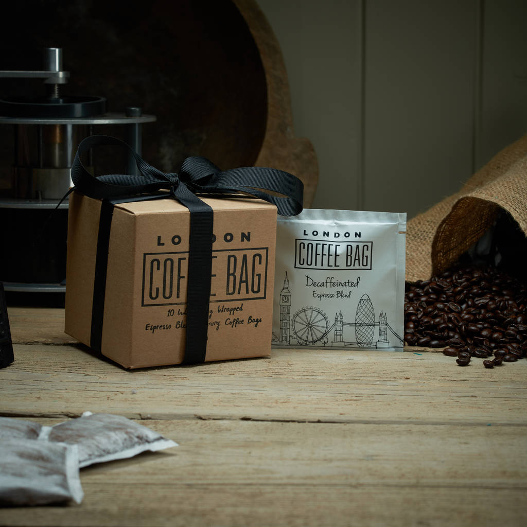 Coffee Bag Sachet Gift Box Trio