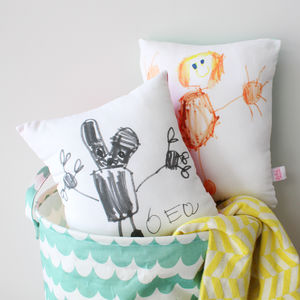 Kids Drawing Cushion - gifts for mothers