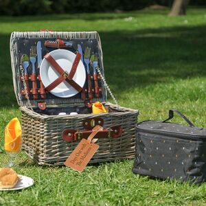 Bazille Personalised Traditional Picnic Hamper
