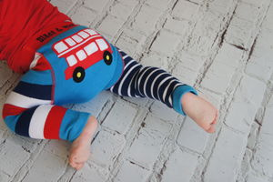London Bus Leggings - trousers & leggings