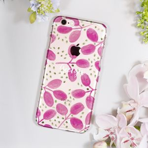 Personalised Patterned Hard iPhone Case For Her - whats new
