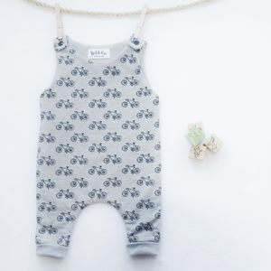 Unisex Bicycle Romper - whatsnew