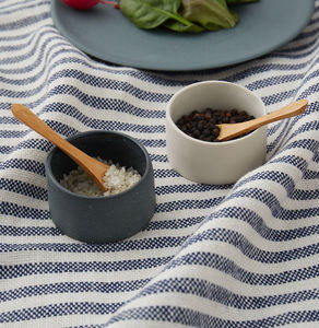 Salt And Pepper Bowls - salt & pepper pots