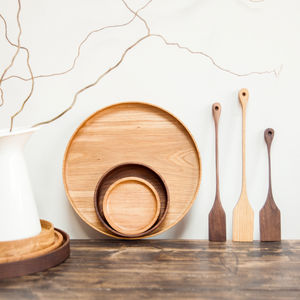 Solid Wood Bowls And Plates