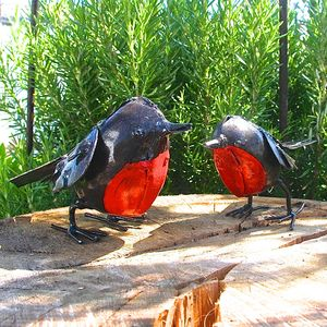 Pair Of Robin Decorations
