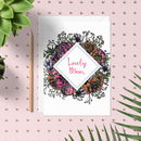 Meadow Floral 'Lovely Mum' Card