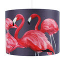 40cm Flock of Flamingos Lampshade