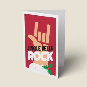 'Jingle Bells Rock' Funny Christmas Card