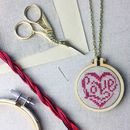 Stitch Your Own Pendant Kit