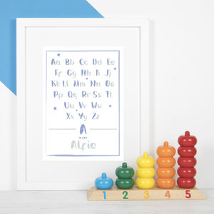 Personalised Baby Name Print