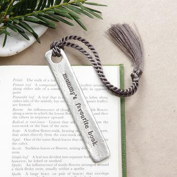 'Mum/Mummy's Favourite Book' Bookmark