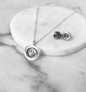 Silver Spiral Pendant - necklaces & pendants