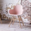 Scandinavian Blush Pink Dining Chair
