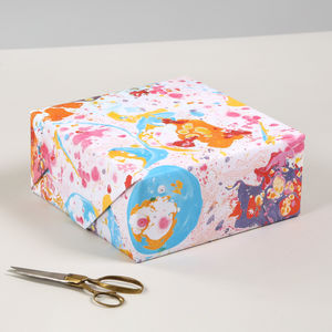 Luxury Marble Pattern Birthday Gift Wrapping Paper - ribbon & wrap