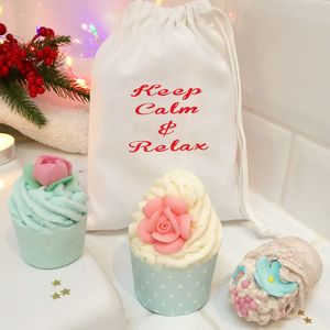 Keep Calm Bath Bomb Gift Set - bath & shower