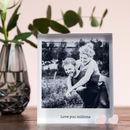 Personalised Photo Acrylic Block