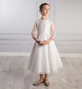 Sophia Dress Silk Organza