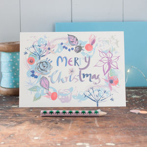 Merry Christmas Pack Of Cards - cards & wrap