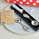 From Little Acorns Christening Spoon For Girls Or Boys