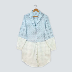 Noughts And Crosses Organic Pyjama Nightshirt