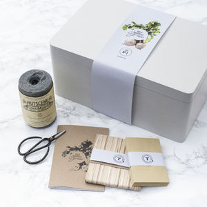 The Mighty Seed Storage Box In Grey - wedding gifts