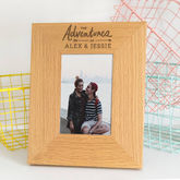 'The Adventures Of' Personalised Photo Frame - anniversary gifts
