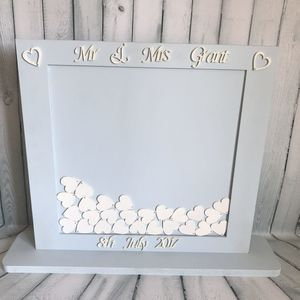 Wedding Square Guest Drop Box Guest Book